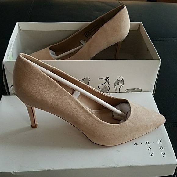 718a8d441 a new day Shoes - Women s Shades of Nude Pointed Toe Pumps - A ...